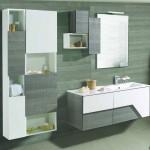 mobile arredo bagno linea moderna design Glam 120