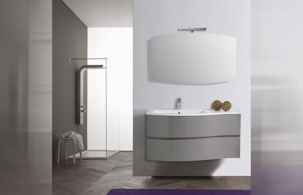 mobile arredo bagno linea moderno light